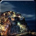Greece Night Live Wallpaper HD icon
