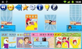 Screenshot of Go Fish! SugarKidsClub