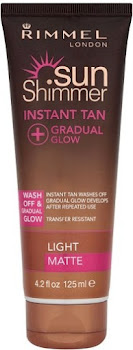 Sunshimmer Instant Gradual Glow Light Matte