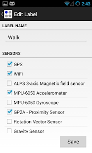 Sensor Log- screenshot thumbnail
