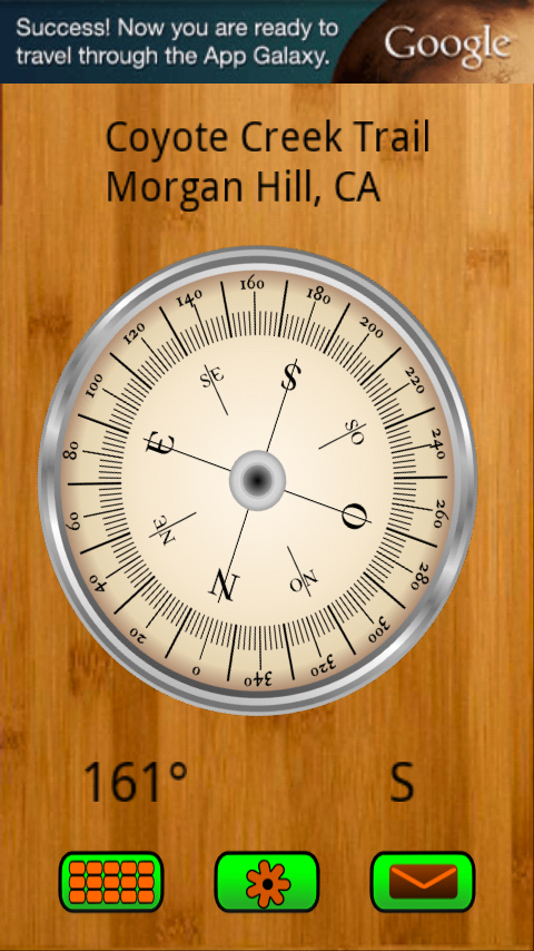 Compass & GPS - screenshot