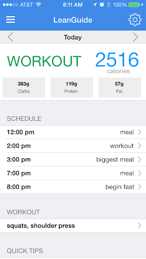 LeanGuide - Fitness
