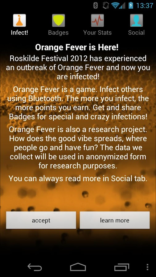 Roskilde Orange Fever - screenshot