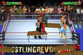 Wrestling Revolution (PPV) wwe v1 19 Apk Download Free