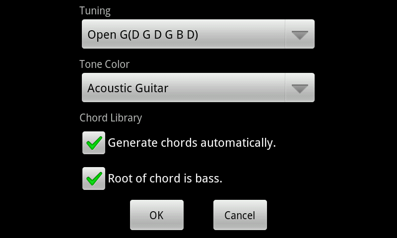 GonA Chord Master - screenshot