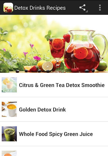 Detox Drinks Recipes