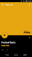 Screenshot of Radio FM4