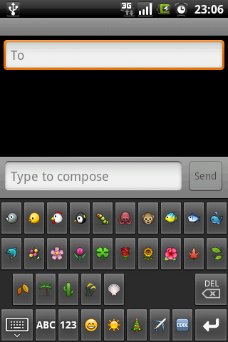 Emoji Smiley Keyboard - screenshot