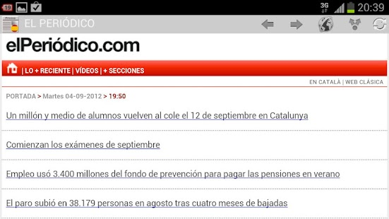 News & Magazines in Spain- screenshot thumbnail