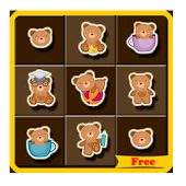 Cute Bear Match Game