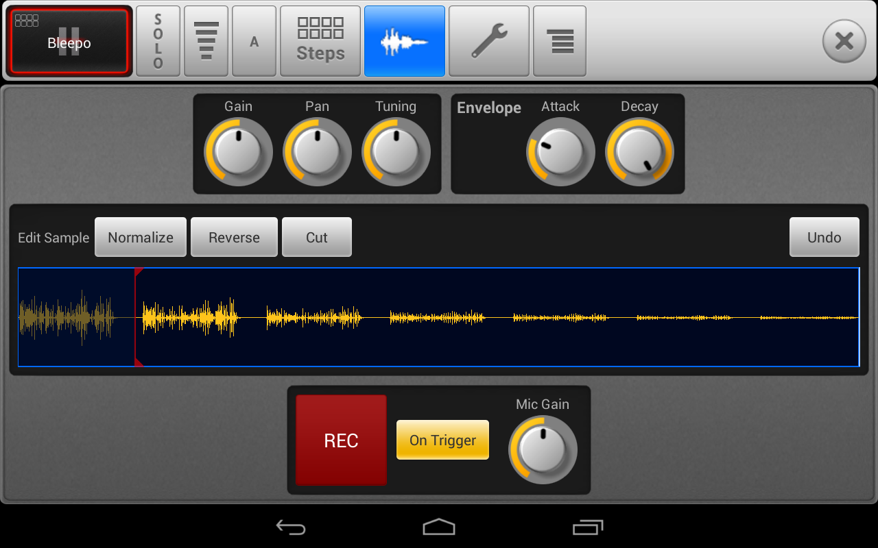 SPC - Music Drum Pad Demo - screenshot