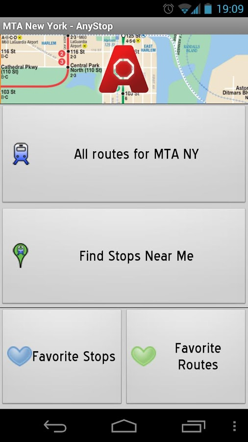 MTA New York City: AnyStop - screenshot