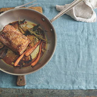 Roasted Pork with Sage, Rosemary, and Garlic