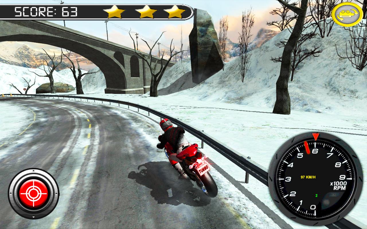 Frozen-Highway-Bike-Rider-VR 22