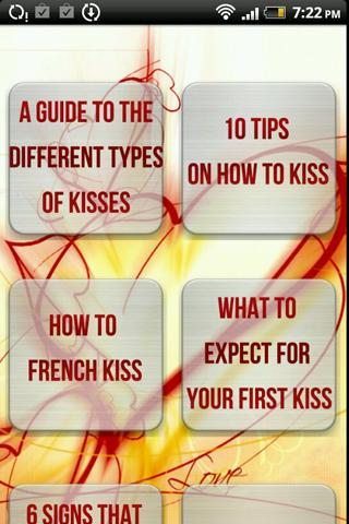 How to kiss - ultimate guide t- screenshot