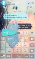 Screenshot of GO Keyboard Fantasy Fonts,Text