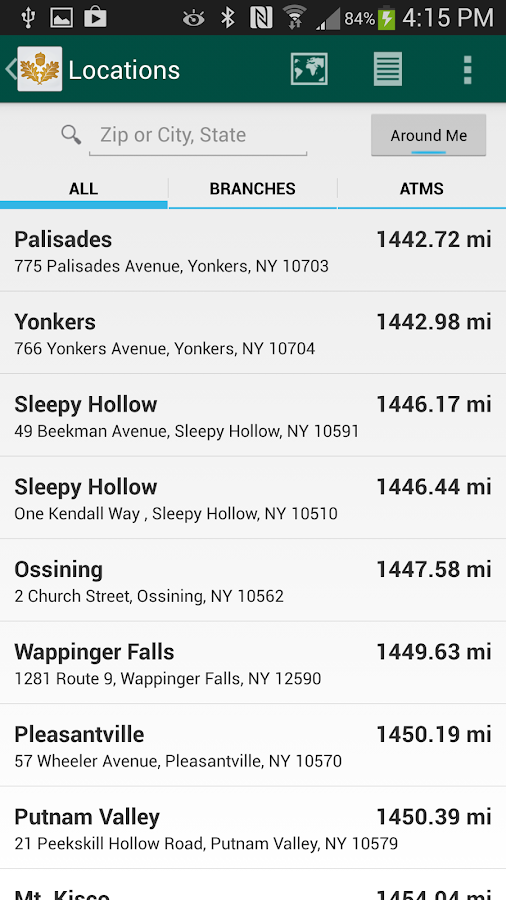 Mahopac Bank Mobile- screenshot