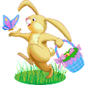 Easter Bunnies Widget logo