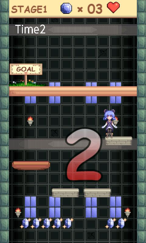 A tower, a girl and a stone - screenshot