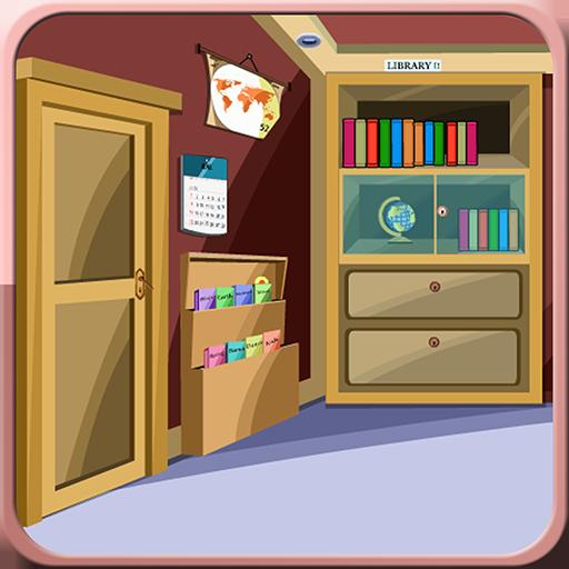 解谜の大学図書館エスケープ LOGO-記事Game