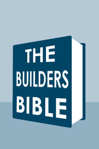 【免費商業App】Builders Bible-APP點子