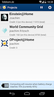 BOINC - screenshot thumbnail