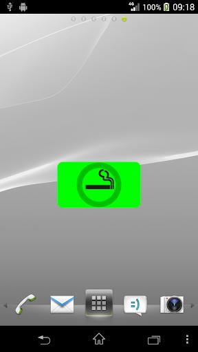 Smoke Less Widget