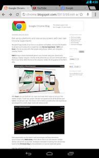 Chrome-Browser – Google - screenshot thumbnail