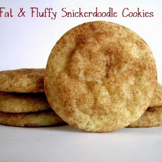 Fat and Fluffy Snickerdoodles