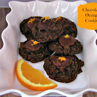 Chocolate Orange Paleo Cookies.