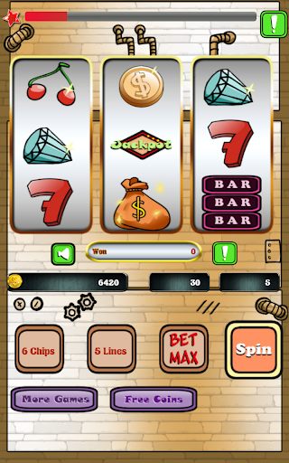 Slots 5 Lines Casino Game
