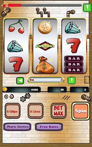 插槽5線賭場遊戲