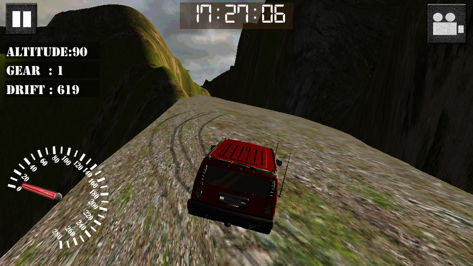 Screenshots of Uphill Truck - Jeep Racing for iPhone