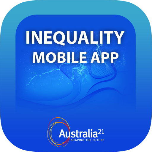 Australia21 Inequality App LOGO-APP點子