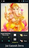 Screenshot of Ganesh Aarti