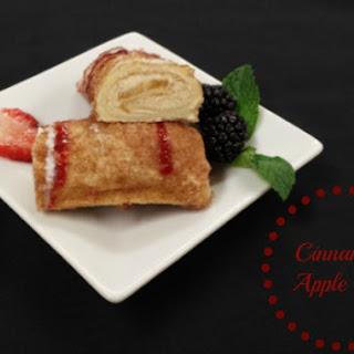 Cinnamon Apple Roll
