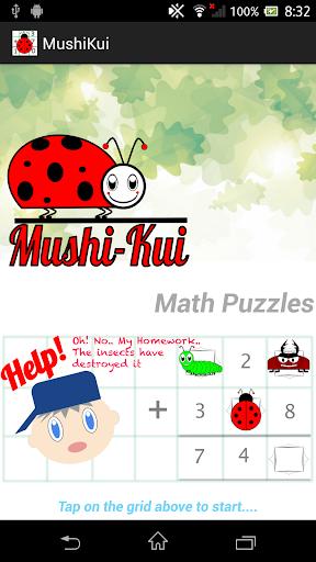 MushiKui Math Puzzles for Kids