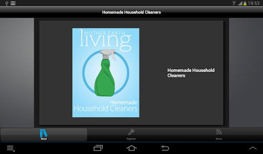 Homemade Household Cleaners - screenshot thumbnail