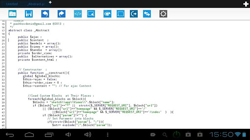 Power Text editor with ftp.