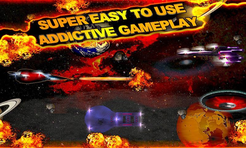 A POSEIDON Space Wars Racing- screenshot
