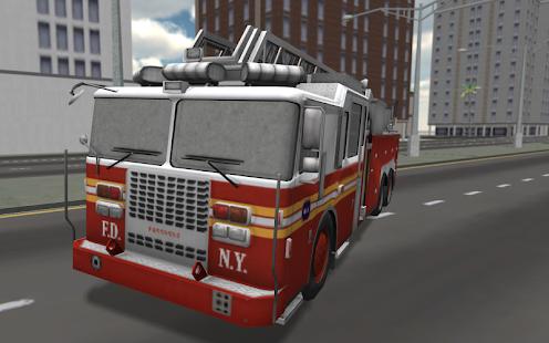 Fire Truck Driving 3D 模擬 App-癮科技App