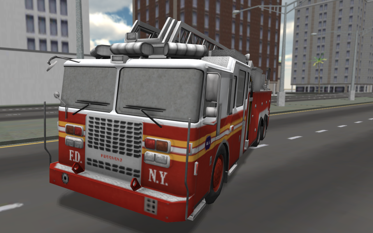 Fire truck simulator - Dog shocking collars
