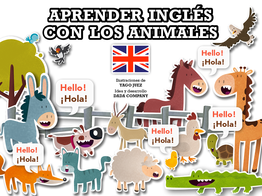 Aprender inglés con animales- screenshot