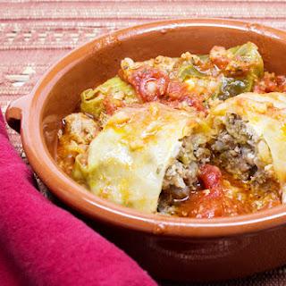 Lamb and Feta Cabbage Rolls