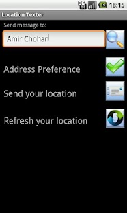 Location Texter - screenshot thumbnail