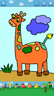 Kids Coloring ( Land animals )- screenshot thumbnail