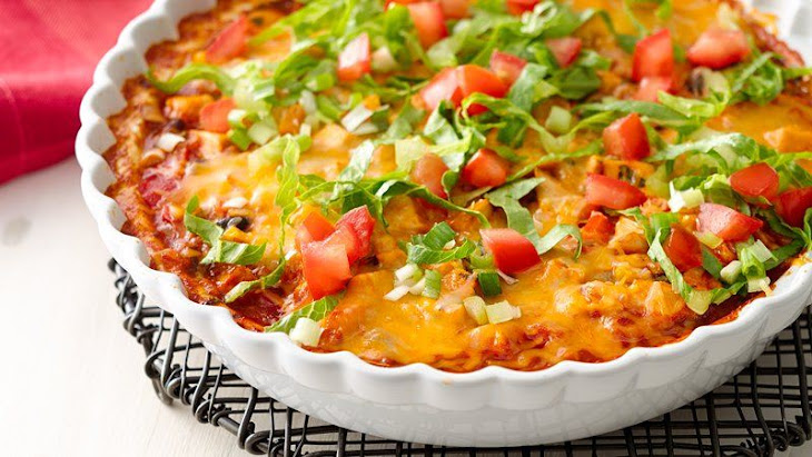 Skinny Mexican Chicken Casserole Recipe