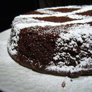 Fudgy Chocolate Stout Cake.