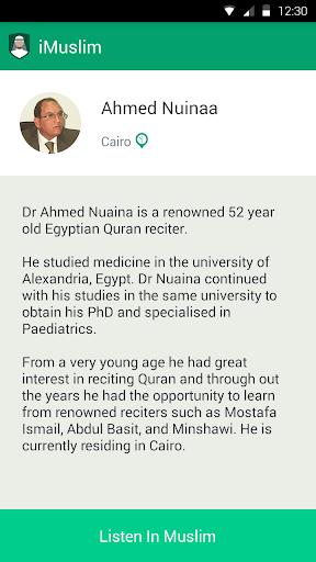 Ahmed Nuinaa -iMuslim