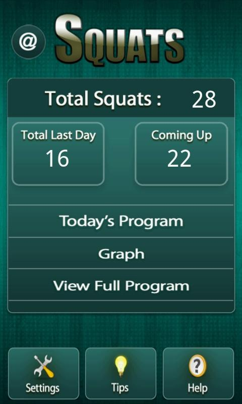Squats Fitness Workout- screenshot